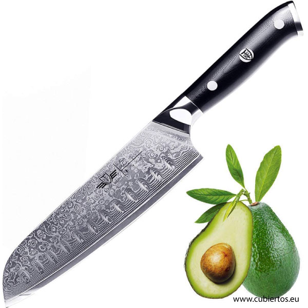 Cuchillos de Cocina de Damasco