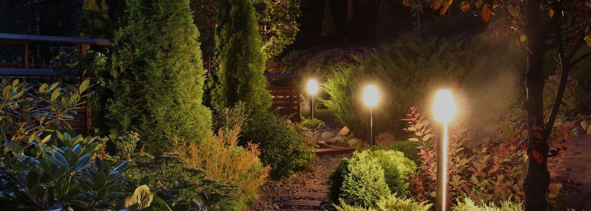 ¿Cómo brilla tu jardín? 12 ideas luminosas de iluminación exterior