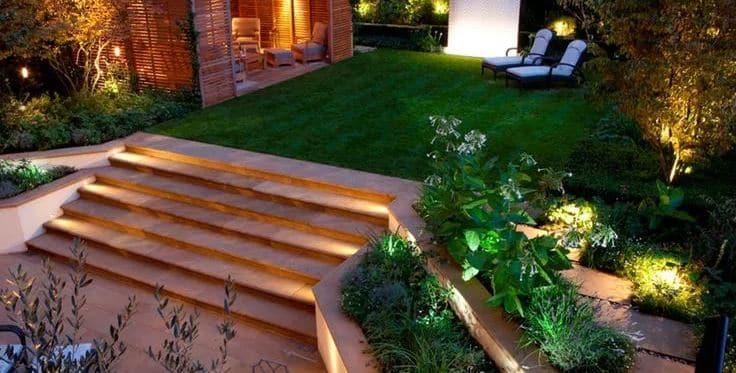 Ideas de iluminación en el jardín para inspirarse