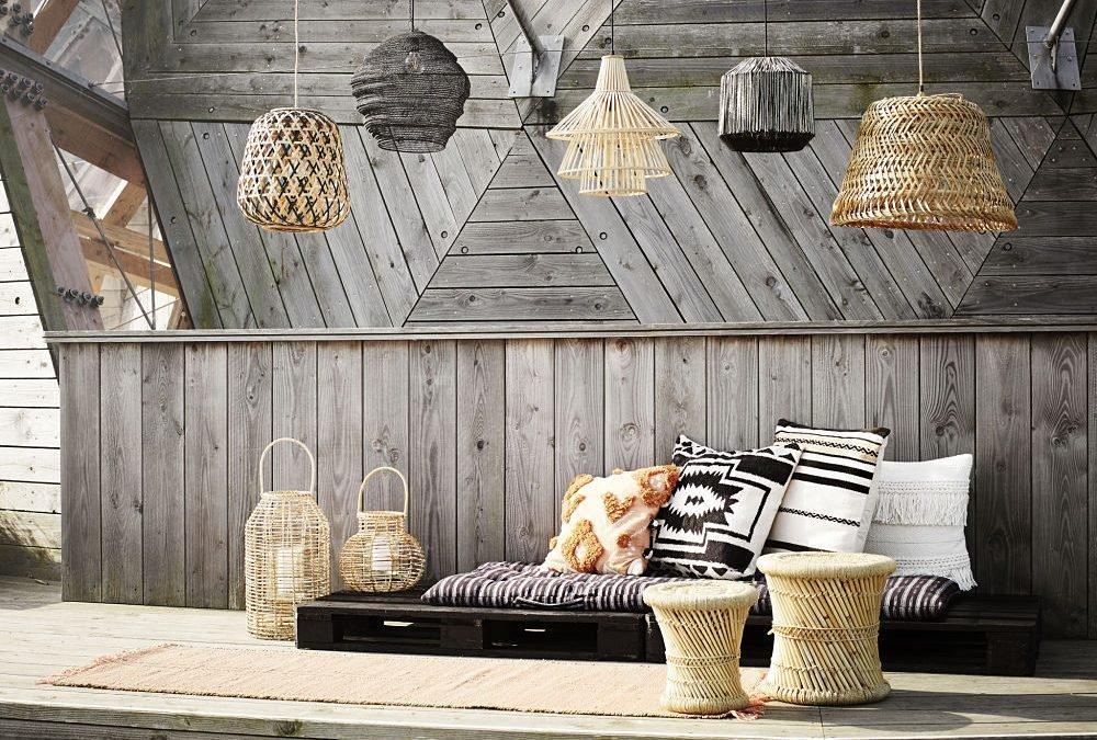 lampara para porche exterior